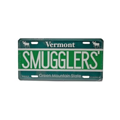 Smugglers' License Plate