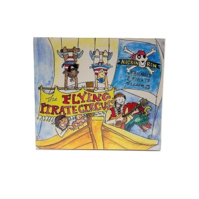 Flying PIrate Circus Book and CD cover artwork