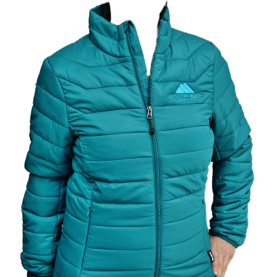 Landway Ladies Ultralite Jacket, turquoise and black