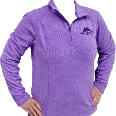 Landway Ladies Terramo fleece, purple and grey