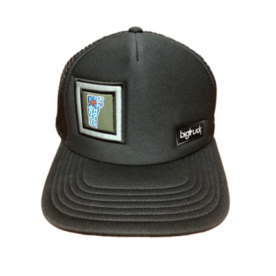 Big Truck Black Mesh Cap