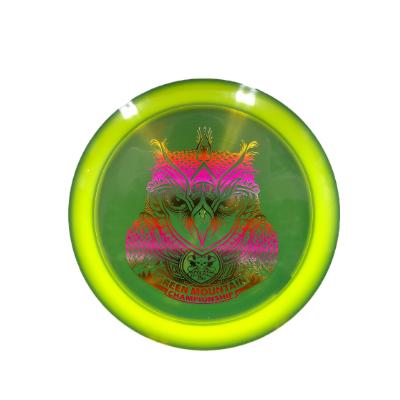 DC Z Flick Owl: Yellow/Pastel Rainbow