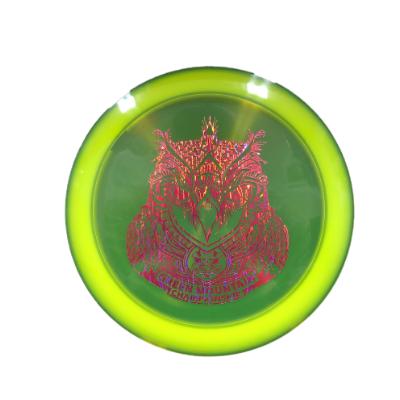 DC Z Flick Owl: Yellow/Metallic Purple