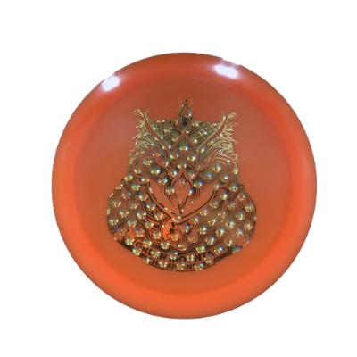 DC Z Flick Owl: Orange/Gold Bubble
