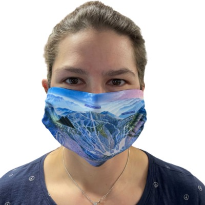 Trail Map Mask